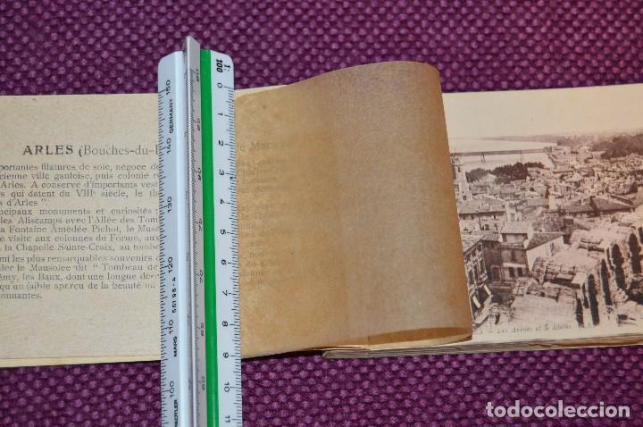 Postales: ANTIGUO LIBRO DE 24 POSTALES SIN CIRCULAR - DE LA CIUDAD FRANCESA DE ARLES - VINTAGE - HAZ OFERTA - Foto 8 - 94711731