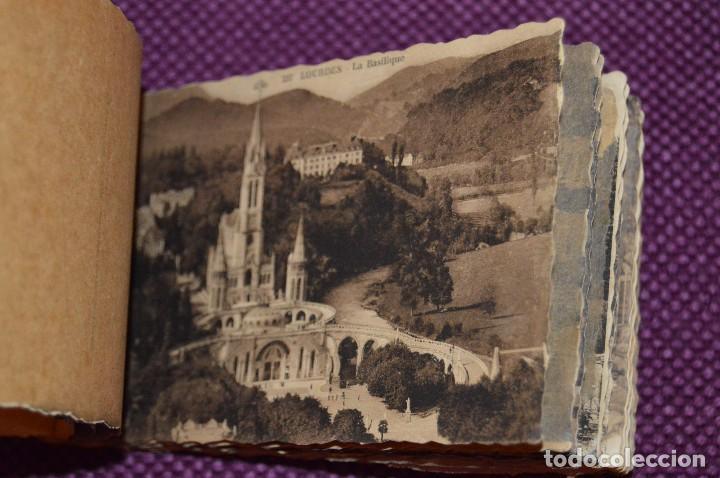 Postales: ANTIGUO LIBRO DE 19 POSTALES SIN CIRCULAR - CIUDAD FRANCESA DE LOURDES PRINCIPIO SIGLO - HAZ OFERTA - Foto 9 - 94712515