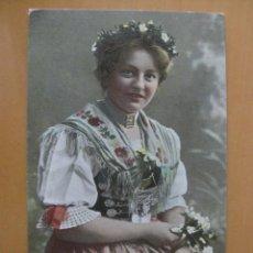Postales: COSTUMBRES TIPOS DE EUROPA, AUSTRIA? BODA CAMPESINA. Lote 95343103