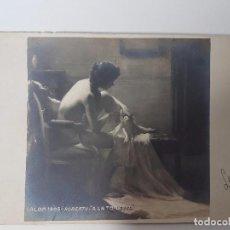 Postales: ANTIGUA POSTAL SALON 1905 - ROBERTY - A LA TOILETTE (AÑO 1907) . Lote 95605287