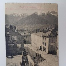 Postales: PHOTO LABOUCHE FR- TOULOUSE (1953) MONT-LOUIS, L'UNIQUE ENTREE DE LA VILLE ET MONUMENT DAGOBERT. Lote 95605911