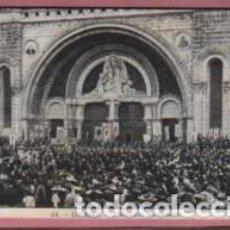 Postales: POSTAL DE LOURDES - BENEDICTIÓN DES MALADES - ENFERMOS Nº 54 MAGASINS. Lote 95757435