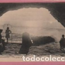 Postales: POSTAL DE FRANCIA - BIARRITZ - VUE PRISE DE LA GROTTE DU PHARE- Nº 288 DE LL.. Lote 95757591