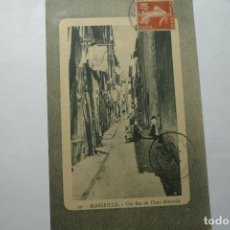 Postales: POSTAL EXTRANJERA UNA CALLE DE MARSELLA --ESCRITA BB. Lote 95779607