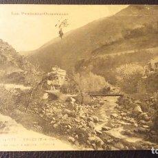 Postales: POSTAL VALLEEDELA TET, PIRINEO ORIENTAL, SELLO DE ALFONSO XIII, AÑO 1929. Lote 95971103