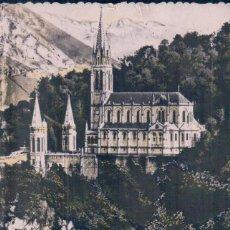 Postales: POSTAL LOURDES - LA GROTTE ET LA BASILIQUE 23 - ED P DOUCET. Lote 96136991