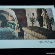 Postales: SAIN EMILION GIRONDE ED COMBIER CIRCULADA 2005. Lote 96861715