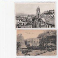 Postales: AD - LOTE DE 8 POSTALES DE GIBRALTAR ANTIGUAS MUY INTERESANTE. Lote 97184015