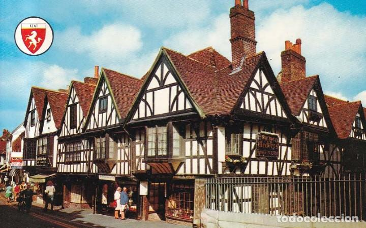 Reino Unido Canterbury The Weavers House Postal Circulada