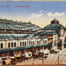 Postales: POSTAL ALEMANIA: SIN CIRCULAR.- COLN A. RH. HAUPTBAHNHOF. Lote 98239803