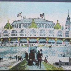 Postales: TARJETA POSTAL - OSTENDE - LE KURSAAL FAGE - BELGICA. Lote 98477947