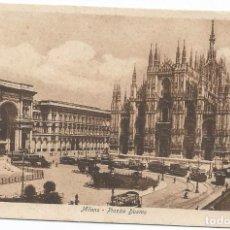 Postales: MILANO PIAZZA DUOMO . Lote 98495915