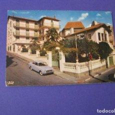 Postales: POSTAL DE FRANCIA, LOURDES. HOTEL NOTRE-DAME DE LA CLARTE. AÑOS 60. SIN CIRCULAR. LOTE Nº2.. Lote 98504515