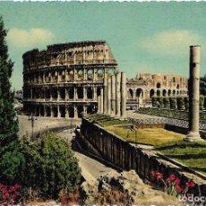 Postales: == A627 - POSTAL - ROMA - ANFITEATRO FLAVIO O COLOSSEO. Lote 98566867