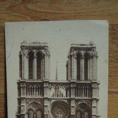Postales: PARIS , NOTRE DAME. Lote 98723279