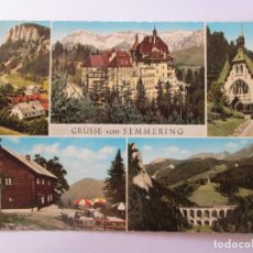Postales: GRUSSE VOM SEMMERING 1968. Lote 98727515