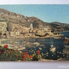 Postales: LA PRINCIPAUTE DE MONACO HERCULE ET MONTE CARLO. Lote 98727547