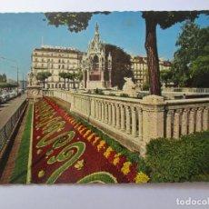 Postales: GENEVE LE MONUMENT BRUNSWICK ET LES PARTERRES FLEURIS 536. Lote 98727571