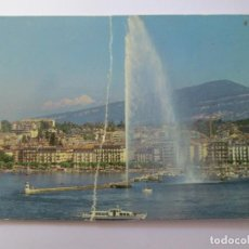 Postales: GENEVE MONT BLANC 1989. Lote 98727579