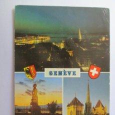 Postales: GENEVE VUE GENERALE LA BRISE ST. PIERRE 1979. Lote 98727587