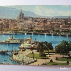 Postales: GENEVE LA ROTONDE DU QUAI DU MONT BLANC Nº 532. Lote 98727595