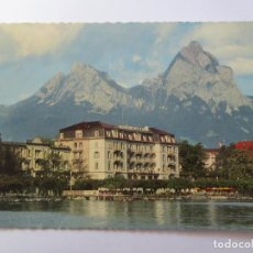 Postales: HOTEL WALDSTATTERHOF BRUNNEN Nº 6440. Lote 98727623