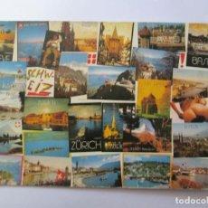 Postales: FOTOGRAFIC COLLECTION ZURICH GENEVE SCHWEIZ. Lote 98727631