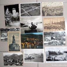 Postales: LOTE 12 POSTALES MUY ANTIGUAS ALEMANIA GERMANY POST CARD VINTAGE. NUREMBERG KOLN BERLIN HAMBURGO... Lote 98811443
