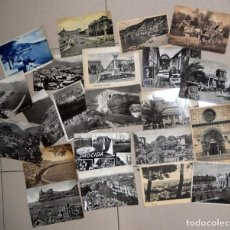 Postales: LOTE 12 POSTALES MUY ANTIGUAS ITALIA ITALY POST CARD VINTAGE. DOLOMITAS NAPOLES TURIN VENEZIA MILANO. Lote 98811823