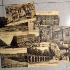 Postales: LOTE 9 POSTALES MUY ANTIGUAS VERSALLES VERSAILLES FRANCIA FRANCE PARIS. NO CIRCULADAS. Lote 98811899