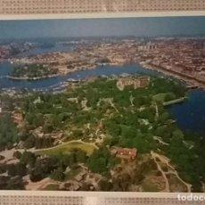 Postales: POSTAL TITULADA HACIA EL ESTE DE LA CIUDAD. ESTOCOLMO. SUECIA. 1997. COMO NUEVA. Lote 99306175
