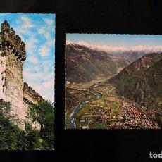 Postales: POSTALES BELLINZONA (SUIZA). Lote 99818779