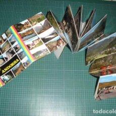 Postales: VALLS D'ANDORRA - FORMATO ACORDEON 24 POSTALES. Lote 99946971