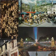 Postales: 90 POSTALES * PARIS * SIN CIRCULAR NI ESCRIBIR- DIFERENTES ( LOTE Nº 116). Lote 99971511