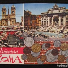 Postales: POSTAL ROMA ( ITALIA ) - FONTANA DI TREVI.. Lote 100574143