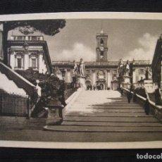 Postales: POSTAL ROMA ( ITALIA ) - IL CAMPIDOGLIO.. Lote 100574927