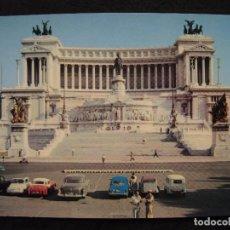 Postales: POSTAL ROMA ( ITALIA ) - MONUMENTO A VITTORIO EMANUELE II.. Lote 100575867