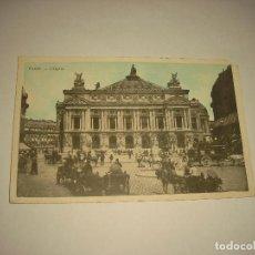 Cartoline: PARIS , L' OPERA . POSTAL J.C., SIN CIRCULAR. Lote 100734195