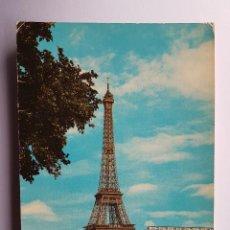 Postales: PARIS ET SES MERVEILLES, LA TOUR EIFFEL. Lote 100801603
