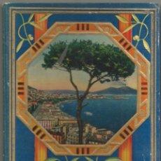 Postales: ANTIGUO LIBRO ACORDEON POSTALES RICORDO DI NAPOLI (32 VISTAS) - (11,5X17). Lote 101090583