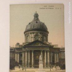 Postales: POSTAL PARIS. BOULEVARD SAINT MICHEL. CHAPELLERIE DU PARIS- ELEGANT.. Lote 101136655
