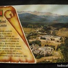 Postales: POSTAL MONT-LOUIS - VUE GENERALE, AU FOND LA CHAINE DU CARLITTE.. Lote 101266763