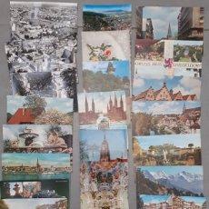 Postales: LOTE DE 30 POSTALES DE ALEMANIA AÑOS 50 60 Y 70 ALGUNAS CIRCULADAS A VALENCIA SALAMANCA TANGER. Lote 101349423