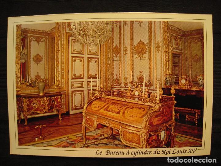 Le Bureau De Louis Xv : Postal versailles petits appartements du roi comprar postales