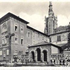 Postales: == A1424 - POSTAL - PORTUGAL - BUSSACO - ENTRADA DO CONVENTO E TORRE DO PALACE HOTEL. Lote 101501219