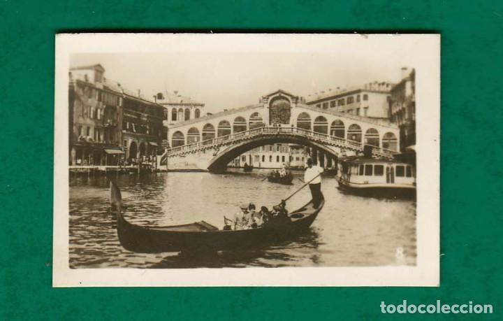 ANTIGUA POSTAL VENEZIA 8 PONTE DI RIALTO EDIT TRALDI AÑOS 20 - 30 (Postales - Postales Extranjero - Europa)