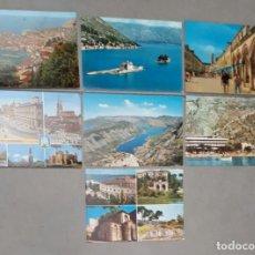 Postales: LOTE DE 7 POSTALES DE MONTENGRO AÑOS 70. Lote 101609619