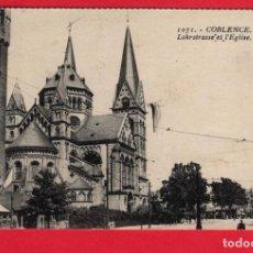 Postales: 4465 ALEMANIA DEUTSCHLAND ALLEMAGNE GERMANY RENANIA PALATINADO KOBLENZ COBLENZ COBLENCE LOHRSTRASSE . Lote 101655983