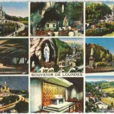 Postales: LOURDES (FRANCIA), DIVERSOS ASPECTOS - ED. P. DOUCET Nº 201 - SIN CIRCULAR. Lote 102056619
