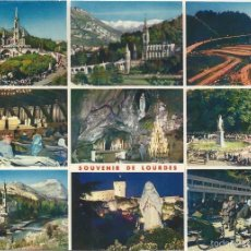 Postales: LOURDES (FRANCIA), DIVERSOS ASPECTOS - ED. A. DOUCET Nº 7 - SIN CIRCULAR. Lote 102057335